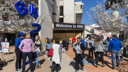 Welcome to The Australian National University